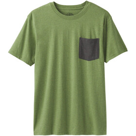 Prana Pocket T-Shirt Herren matcha heather